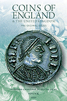 Picture of the cover of the catalogue: Emma Howard (editor); 2021. Coins of England & the United Kingdom : Pre-Decimal Issues (56th edition). Spink & Son, London, United Kingdom.