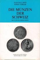 Picture of the cover of the catalogue: Jean-Paul Divo, Edwin Tobler; 1967. Die Münzen der Schweiz im 19. Und 20. Jahrhundert. Bank Leu AG, Zürich, Switzerland.