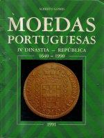 Picture of the cover of the catalogue: Alberto Gomes; 1991. Moedas Portuguesas. Associação Numismatica de Portugal, Lisbon, Portugal.