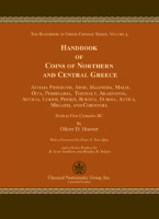 Picture of the cover of the catalogue: Oliver D. Hoover; 2014. The Handbook of Greek Coinage Series / Volume 4. Handbook of Coins of Northern and Central Greece : Achaia Phthiotis, Ainis, Magnesia, Akarnania, Aitolia, Lokris, Phokis, Boiotia, Euboia, Attica, Megaris, and Corinthia : Sixth to First Centuries BC. Classical Numismatic Group, Lancaster, Pennsylvania - London, United Kingdom.