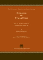 Picture of the cover of the catalogue: Oliver D. Hoover; 2009. The Handbook of Greek Coinage Series / Volume 9. Handbook of Syrian Coins : Royal and Civic Issues : Fourth to First Centuries BC. Classical Numismatic Group, Lancaster, Pennsylvania - London, United Kingdom.