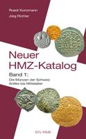 Picture of the cover of the catalogue: Jürg Richter, Ruedi Kunzmann; 2006. Der neue HMZ-Katalog / Band. 2. Die Münzen der Schweiz und Liechtensteins : 15./16. Jahrhundert bis Gegenwart. Gietl Verlag, Regenstauf, Germany.