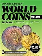 Picture of the cover of the catalogue: Tracy L. Schmidt (editor); 2019. Standard Catalog of World Coins / 1801-1900 (9th edition). Krause Publications, Stevens Point, Wisconsin, USA.