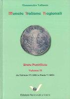 Picture of the cover of the catalogue: Alessandro Toffanin; 2018. Monete Italiane Regionali / Volume 13. Stato Pontificio 2 : Da Adriano VI (1521) a Paolo V (1621). Edizioni Numismatica Varesi, Pavia, Italy.
