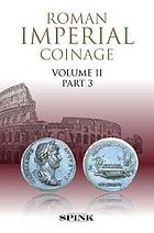 Picture of the cover of the catalogue: Richard Anthony Abdy, Harold Mattingly, Peter Franz Mittag, Edward Allen Sydenham, Carol Humphrey Vivian Sutherland; 2019. The Roman Imperial Coinage / Volume 2.3. Hadrian (AD 117–138) (1926 revised edition). Spink & Son, London, United Kingdom.