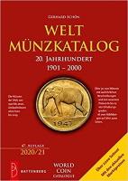 Picture of the cover of the catalogue: Gerhard Schön; 2020. Weltmünzkatalog / 20. Jahrhundert: 1901-2000 (47. Auflage). Gietl Verlag, Regenstauf, Germany.