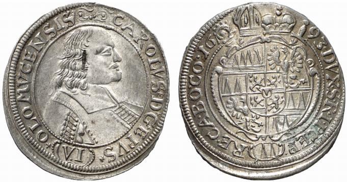1673 carolus coin