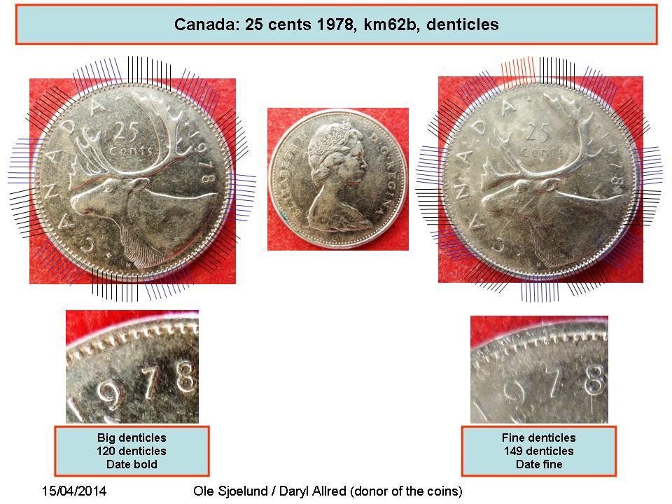 25 Cents - Elizabeth II (2nd portrait) - Canada – Numista