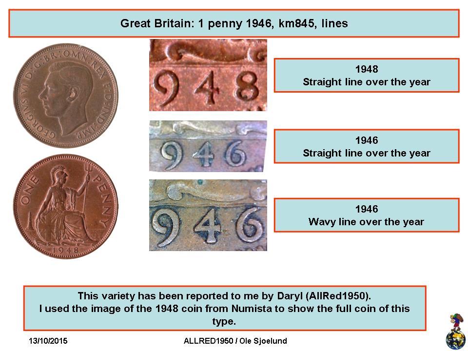 1 Penny - George VI (with 'IND:IMP') - United Kingdom – Numista