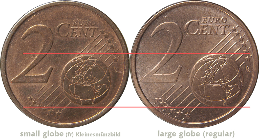 RARE French 2 Centime Coin