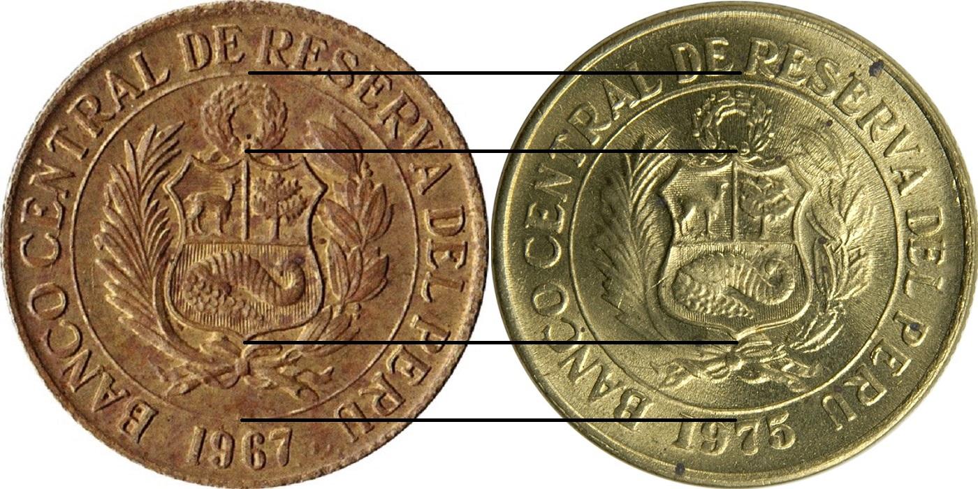 189 Sol De Oro Large Coat Of Arms Peru Numista