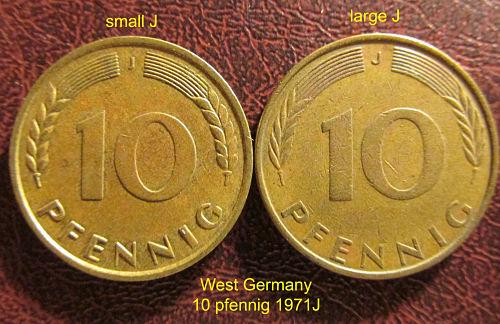 10 pfennig germany federal republic – numista.