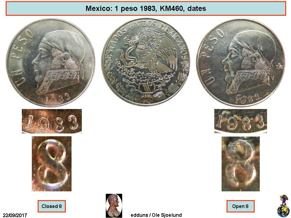 1 Peso - Mexico – Numista