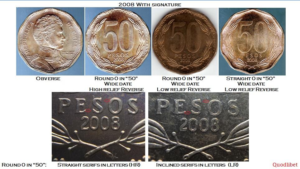 Bernardo O/'Higgins bust Gen Chile 2011-10 Pesos Aluminum-Bronze Coin