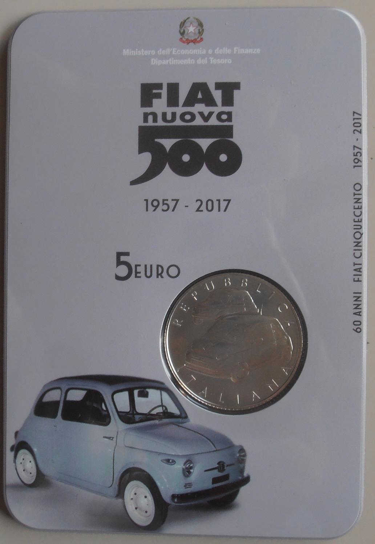 5 Euro Fiat 500