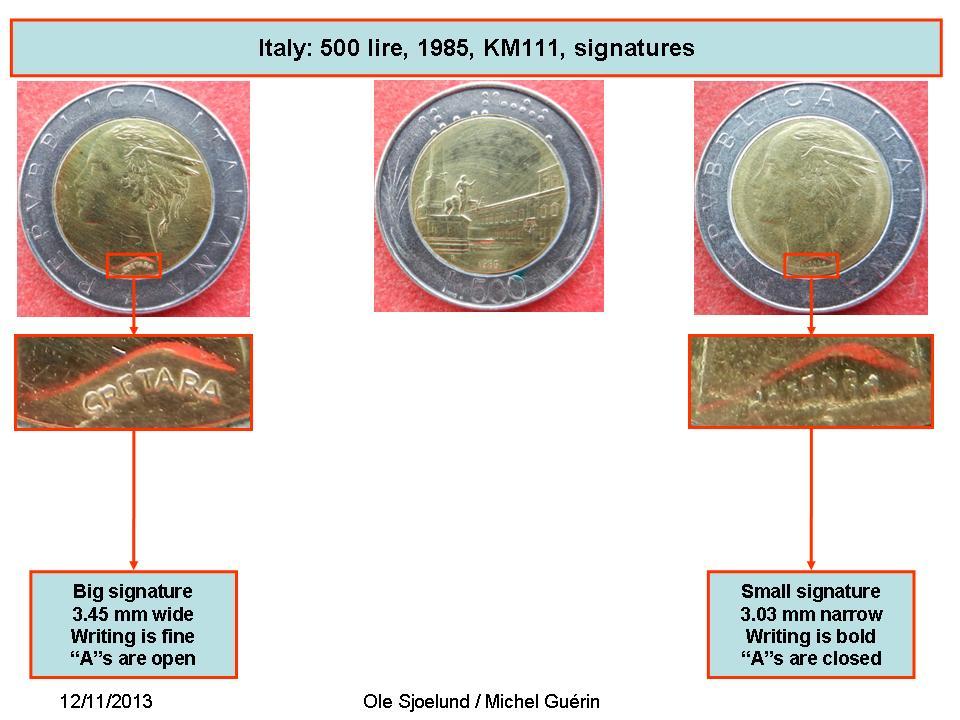 500 Lire Italy Numista