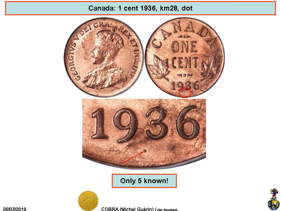 1 Cent - George V (small cent) - Canada – Numista