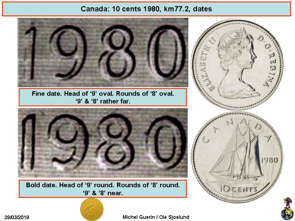 PROOF CANADA 1979 10 CENTS~START A PROOF COLLECTION~F//S