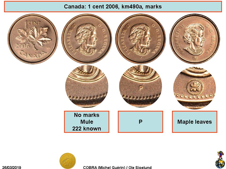 2003 Canadian Prooflike Penny $0.01 WP