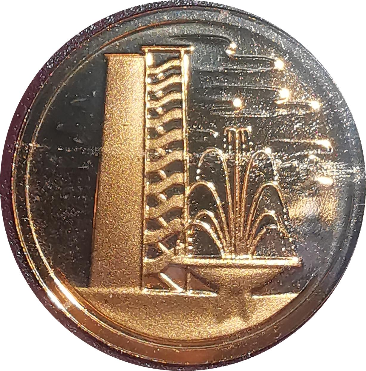 1 Cent (non-magnetic) - Singapore – Numista
