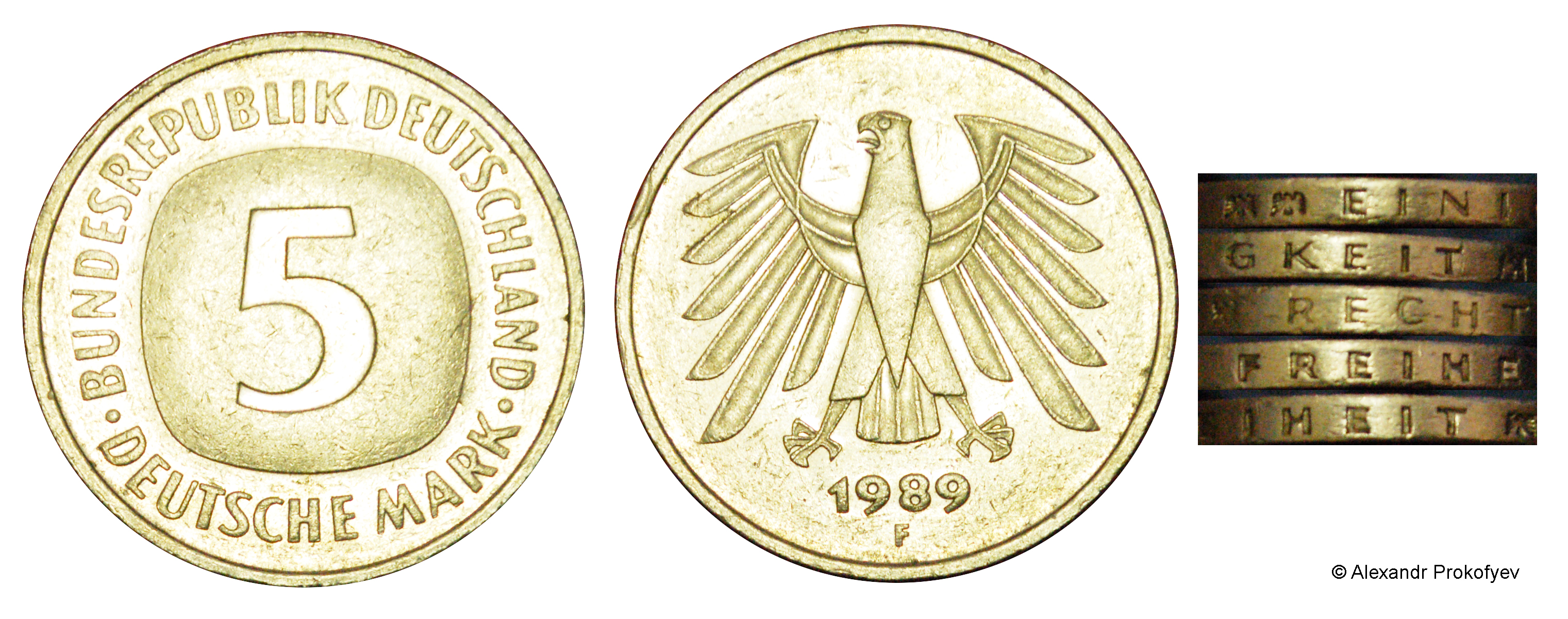 5 Deutsche Mark - Germany - Federal Republic – Numista