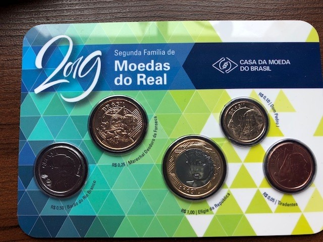 1 Real Brazil Numista