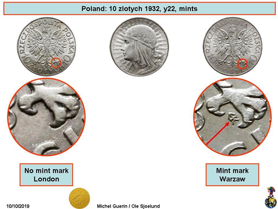 10 Zlotych 1932 - Polonia 5d9ed4efddd42