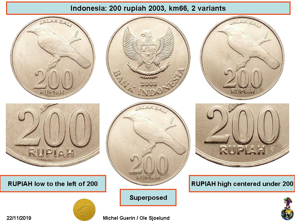 INDONESIA 5-PIECE UNCIRCULATED COIN SET 25 TO 500 RUPIAH