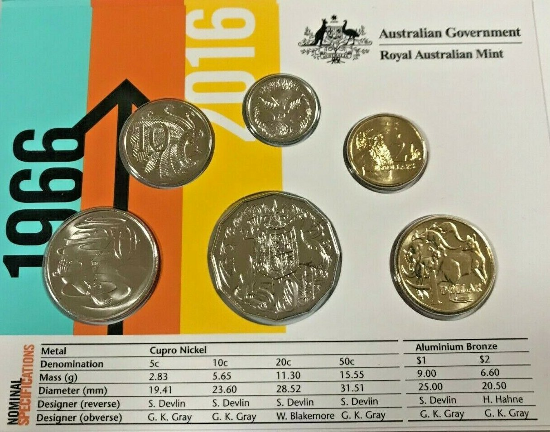 2016  AUSTRALIAN 20 CENT UNC =EX.MINT BAG