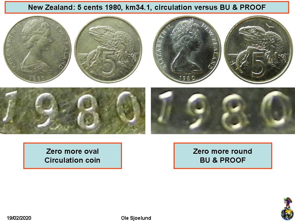 6 COINS 1975 1976 1977 1978 1979 1980 CANADA 5 CENT SET *CHOICE* UNC