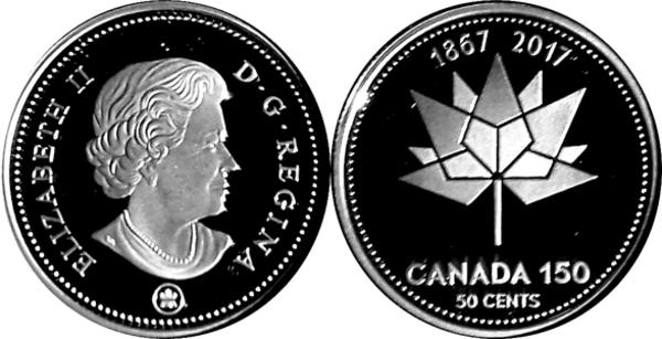 150th Anniversary of Canada UNC $10.00 Banknote 2017 Canada