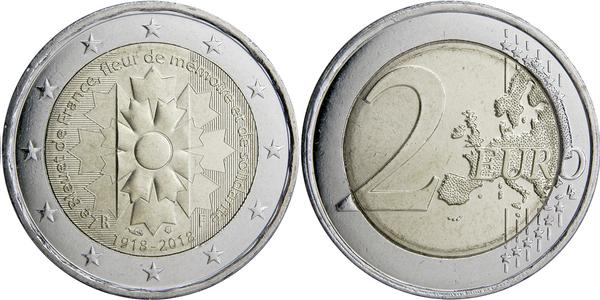 2 Euro Bleuet De France France Numista