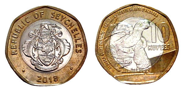 10 Rupees New Alloy Seychelles Numista
