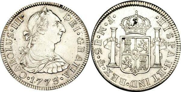 2 Reales - Carlos III - Mexico – Numista
