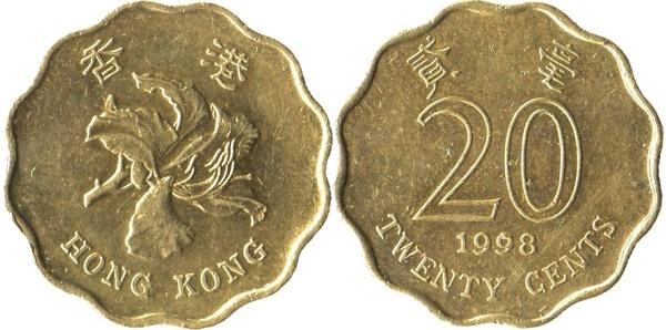 20 Cents Hong Kong Numista