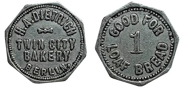 bread coin value