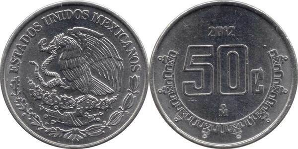 50 Centavos Small Type Mexico Numista