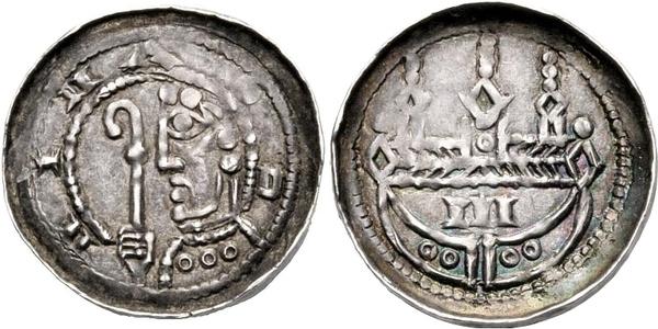 1 Pfennig - Kuno - Bishopric of Strasbourg - Numista