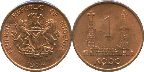 one kobo coin