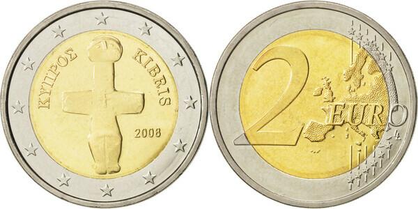 2 Euro Cyprus Numista