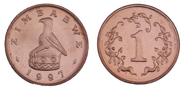 1 Cent Zimbabwe Numista