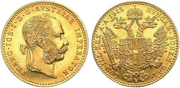 1 Ducat Franz Joseph I Austria Habsburg Numista