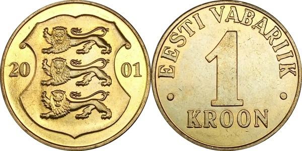 Eestivabariik1kroon2001 стоимость царских монет 2 копейки