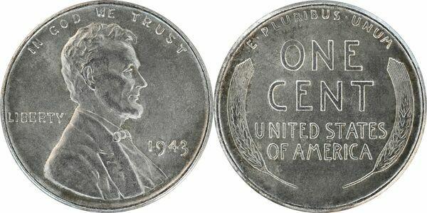 1 Cent Quot Steel Cent Quot United States Numista
