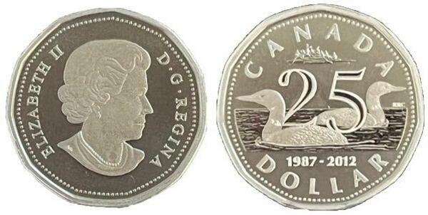 Canada 2012 Grey Cup CFL Football Championship 100th $1 Silver Dollar Proof