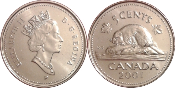 Proof Like 2000 Canada 10 Cents Sealed in Cello