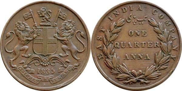 188 Anna India British Numista