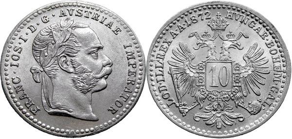 10 крейцеров 1872 раскопки монет 2017