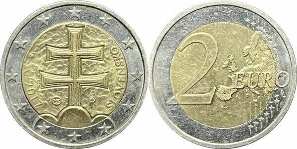 2 Euro Slovakia Numista