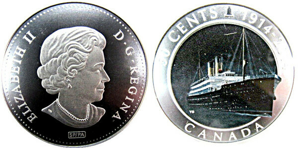 4473 Whitman coin folder for Canada 50 Cents Starting 2014